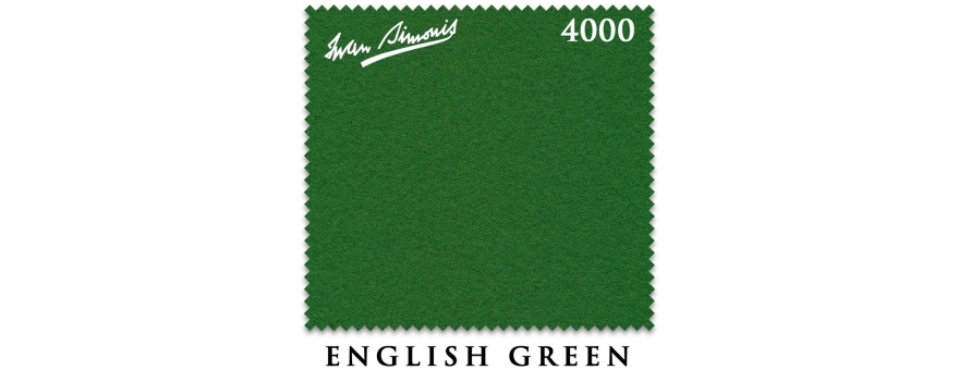 Сукно Iwan Simonis 4000 snooker English green
